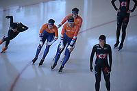 SPEEDSKATING: INZELL: Max Aicher Arena, 06-02-2019, ISU World Single Distances Speed Skating Championships, training, ©photo Martin de Jong