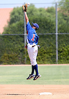 Logan Watkins / AZL Cubs playing against the AZL Brewers at Fitch Park, Mesa, AZ - 07/26/2008..Photo by:  Bill Mitchell/Four Seam Images