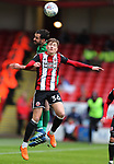 David Brooks of Sheffield Utd during the championship match at the Bramall Lane Stadium, Sheffield. Picture date 28th April 2018. Picture credit should read: Simon Bellis/Sportimage