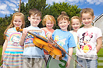 MUSICAL KIDS: An art, music and drama summer camp kept children in Kilflynn entertained last week. Pictured were: Chloe O'Sullivan, Ben O'Connor, Emma Leen, Donnacha Buttimer, Isabell Stack and Caoimhe McElligott.