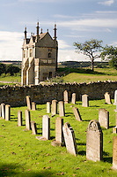 Old Cemetary in the Cotswalds, Gloucestershire, England