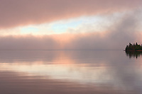 Fog on Lake Superior<br />Rossport<br />Ontario<br />Canada