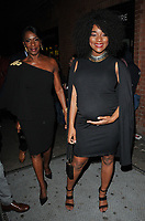 Jacqueline Boatswain and Rachel Adedeji at The Inside Soap Awards 2017, The Hippodrome, Cranbourn Street, London, England, UK, on Monday 06 November 2017.<br /> CAP/CAN<br /> &copy;CAN/Capital Pictures