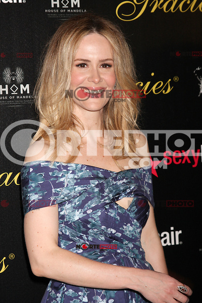 Sarah Paulson at the Alliance for Women in Media Foundation's 37th Annual Gracie National Awards at The Beverly Hilton Hotel on May 22, 2012 in Beverly Hills, California. © mpi28/MediaPunch Inc.