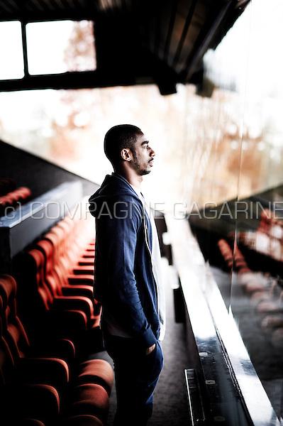 Ivorian footballer Barry Boubacar Copa (Belgium, 26/11/2013)