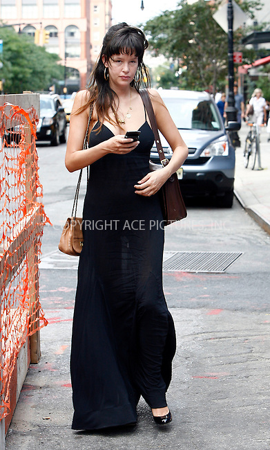 WWW.ACEPIXS.COM . . . . .  ....August 21 2011, New York City....Actress Paz de la Huerta went out for lunch in Tribeca on August 21 2011 in New York City....Please byline: CURTIS MEANS - ACE PICTURES.... *** ***..Ace Pictures, Inc:  ..Philip Vaughan (212) 243-8787 or (646) 679 0430..e-mail: info@acepixs.com..web: http://www.acepixs.com