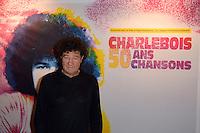 Robert CHARLEBOIS - Representation Robert Charlebois au theatre Bobino - 11 avril 2016 - Paris - France