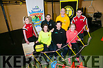 Launching the Countdown to TRI 12 week training program of do your first Triathlon starting in May. Pictured  front l-r Bridget Moore, John Edwards, Wild Water Adventures, Maria O'Keefe McCarthy, Coach, Back l-r Tara Guerin, Fitness Trainer, Cian Hogan, Fitness Coach, Fran McElligott, Anthony O'Leary, Fitness Trainer