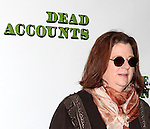Playwright Theresa Rebeck  attending the Meet & Greet the cast of the new Broadway Play 'Dead Accounts' on October 12, 2012 in New York City.