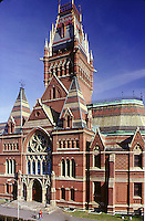 Memorial Hall, Harvard, Cambridge, MA