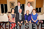 GOLDEN MOMENT: Martin & Mary O'Keeffe, Meenscovane, Duagh, celebrating their 50th wedding anniversary with their family at the Listowel Arms Hotel on Wednesday, November 11th.