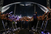 The Crowd as Robin Schulz performs during The New Look Wireless Music Festival at Finsbury Park, London, England on Saturday 04 July 2015. Photo by Andy Rowland.