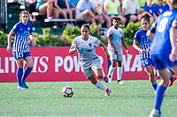 Boston, MA - Saturday June 24, 2017: Debinha De Oliveira during a regular season National Women's Soccer League (NWSL) match between the Boston Breakers and the North Carolina Courage at Jordan Field.