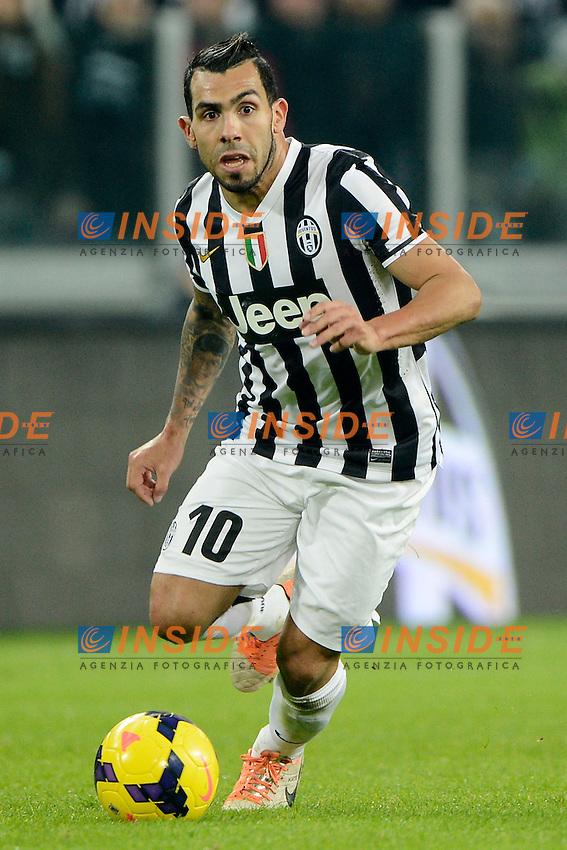 Carlos Tevez Juventus<br /> Torino 02-02-2014 Juventus Stadium - Football 2013/2014 Serie A. Juventus - Inter Foto Giuseppe Celeste / Insidefoto
