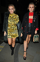 Tallia Storm and Tessie Hartmann at the Aquavit Nordic winter garden VIP launch party, Aquavit London, St James's Market, Carlton Street, London, England, UK, on Monday 13 November 2017.<br /> CAP/CAN<br /> &copy;CAN/Capital Pictures