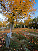 Candia Village Cemetery in Candia, New Hampshire.