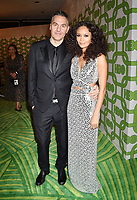 BEVERLY HILLS, CA - JANUARY 06: Ol Parker (L) and Thandie Newton attend HBO's Official Golden Globe Awards After Party at Circa 55 Restaurant at the Beverly Hilton Hotel on January 6, 2019 in Beverly Hills, California.<br /> CAP/ROT/TM<br /> ©TM/ROT/Capital Pictures