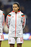 16 October 2014: Veronica Perez (MEX). The Mexico Women's National Team played the Costa Rica Women's National Team at Sporting Park in Kansas City, Kansas in a 2014 CONCACAF Women's Championship Group B game, which serves as a qualifying tournament for the 2015 FIFA Women's World Cup in Canada. Costa Rica won the game 1-0.