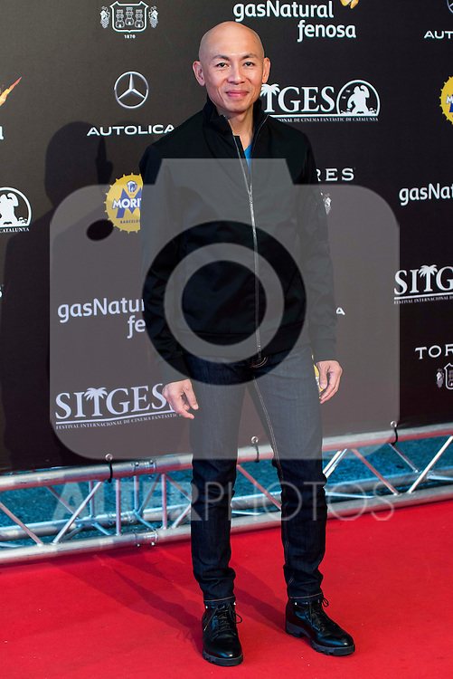 "Hongkonger director Dante Lam pose to the media during the presentation of the film ""Operation Mekong"" at Festival de Cine Fantastico de Sitges in Barcelona. October 10, Spain. 2016. (ALTERPHOTOS/BorjaB.Hojas)"