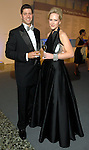 Nicholas Silvers and his wife Kelly at the Silver Ball at the Museum of Fine Arts Friday Oct. 10,2008. (Dave Rossman/For the Chronicle)