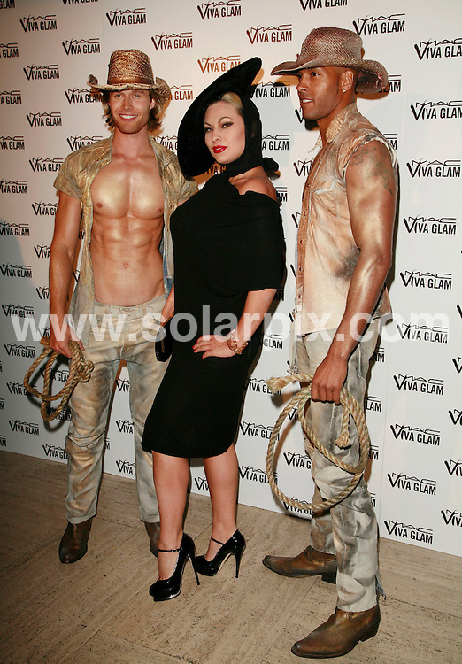 "**ALL ROUND PICTURES FROM SOLARPIX.COM**.Dita Von Teese's (MAC VIVA GLAM Aids Fund Spokesperson) UK Premier of ""Lipteese"" performance at Bloomsbury Ballroom on June 27th, 2007 in London, England...This pic: Immodesty Blaise..JOB REF:  4160  GMT   DATE: 28.06.2007.**MUST CREDIT SOLARPIX.COM OR DOUBLE FEE WILL BE CHARGED* *UNDER NO CIRCUMSTANCES IS THIS IMAGE TO BE REPRODUCED FOR ANY ONLINE EDITION WITHOUT PRIOR PERMISSION*"