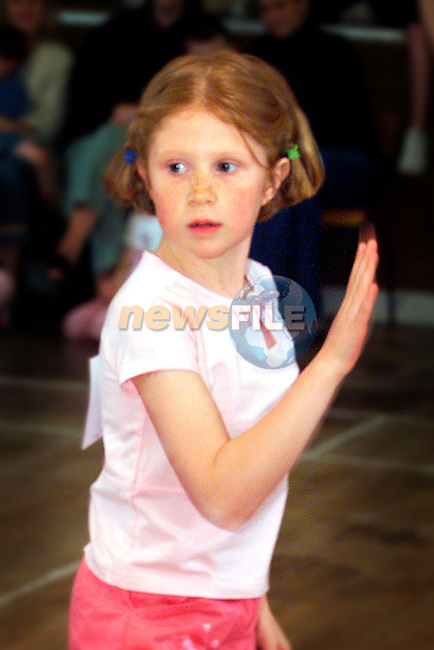 Clodagh Cant, Mornington pictured at the Fit Kids/Fit Teens class in the Parochial Hall in Laytown..Picture: Arthur Carron/Newsfile