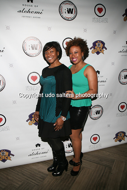 Pam and Jade Attend DJ Jon Quick's 5th Annual Beauty and the Beat: Heroines of Excellence Awards Honoring AMBRE ANDERSON, DR. MEENA SINGH,<br />