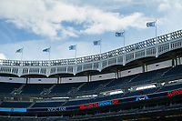 BRONX, New York - Sunday, March 12, 2017: New York City FC takes on DC United at home at Yankee Stadium during the MLS regular season.