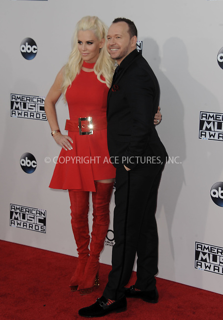WWW.ACEPIXS.COM<br /> <br /> November 22 2015, LA<br /> <br /> Jenny McCarthy arriving at the 2015 American Music Awards at the Microsoft Theater on November 22, 2015 in Los Angeles, California.<br /> <br /> By Line: Peter West/ACE Pictures<br /> <br /> <br /> ACE Pictures, Inc.<br /> tel: 646 769 0430<br /> Email: info@acepixs.com<br /> www.acepixs.com