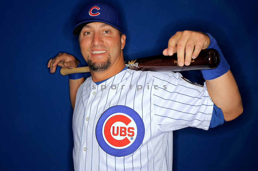 JAKE FOX, of the Chicago Cubs, during spring training photo day on February 23, 2009 in Mesa, Arizona.
