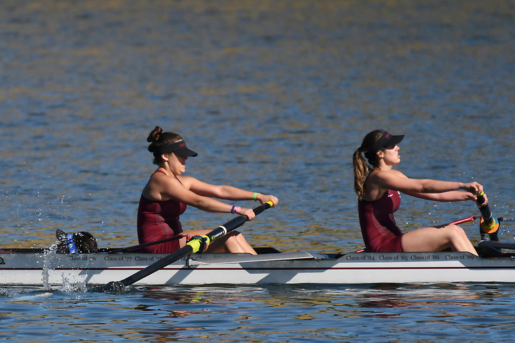 May 13, 2017; Gold River, CA, USA; I Four Santa Clara Broncos during the WCC Rowing Championships at Lake Natoma.