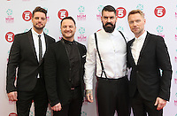 Boyzone arriving at the Tesco Mum Of The Year Awards 2014, at The Savoy, London. 23/02/2014 Picture by: Alexandra Glen / Featureflash