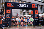 Runners compete at the Bloomberg Square Mile Relay on 21 September 2017 at Guildhall Yard in London, United Kingdom. Photo by Victor Fraile / Power Sport Images