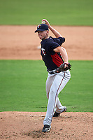 Minnesota Twins pitcher Rich Condeelis (94) during an instructional league game against the Baltimore Orioles on September 22, 2015 at Ed Smith Stadium in Sarasota, Florida.  (Mike Janes/Four Seam Images)