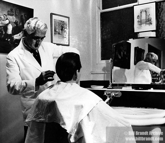 Gentleman's hairdresser