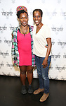 """Ngozi Anyanwu and Awoye Timpo attend the Cast photo call for the Vineyard Theatre production of """"Good Gfief"""" on September 12, 2018 at the Vineyard Theatre in New York City."""