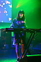 MIAMI BEACH, FLORIDA - JANUARY 18:Gillian Gilbert of New Order performs on stage at the Fillmore Miami Beach at the Jackie Gleason Theater on January 18, 2020 in Miami Beach, Florida.  ( Photo by Johnny Louis / jlnphotography.com )