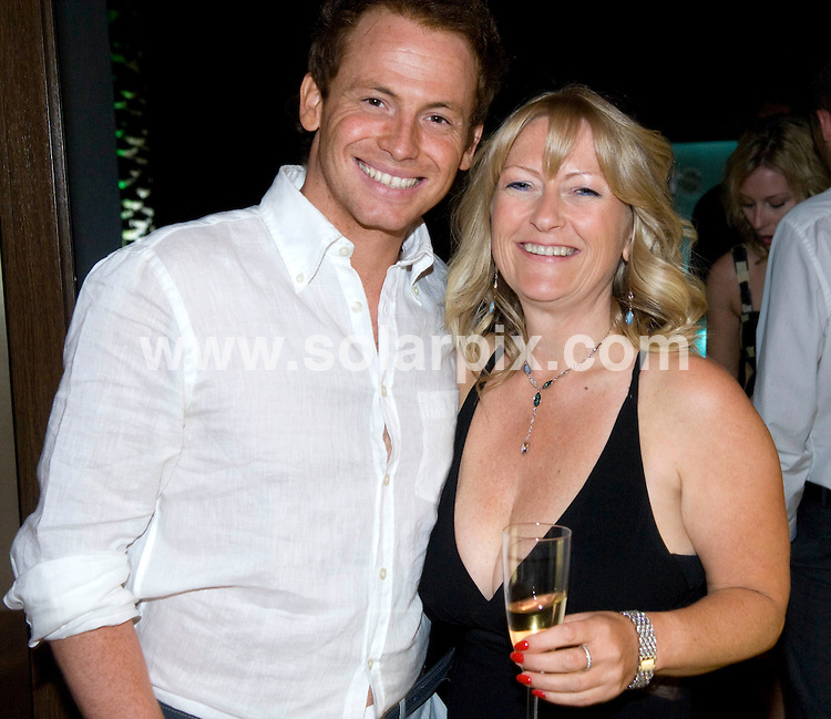 **ALL ROUND PICTURES FROM SOLARPIX.COM**.**WORLDWIDE SYNDICATION RIGHTS**.Celebrity Chef Jean-Christophe Novelli opened his new restaurant this weekend in Marbella, Spain. 25 April 2009.This pic: Joe Swash..JOB REF: 8899 JGS        DATE: 25_04_2009.**MUST CREDIT SOLARPIX.COM OR DOUBLE FEE WILL BE CHARGED**.**ONLINE USAGE FEE GBP 50.00 PER PICTURE - NOTIFICATION OF USAGE TO PHOTO @ SOLARPIX.COM**.**CALL SOLARPIX : +34 952 811 768 or LOW RATE FROM UK 0844 617 7637**