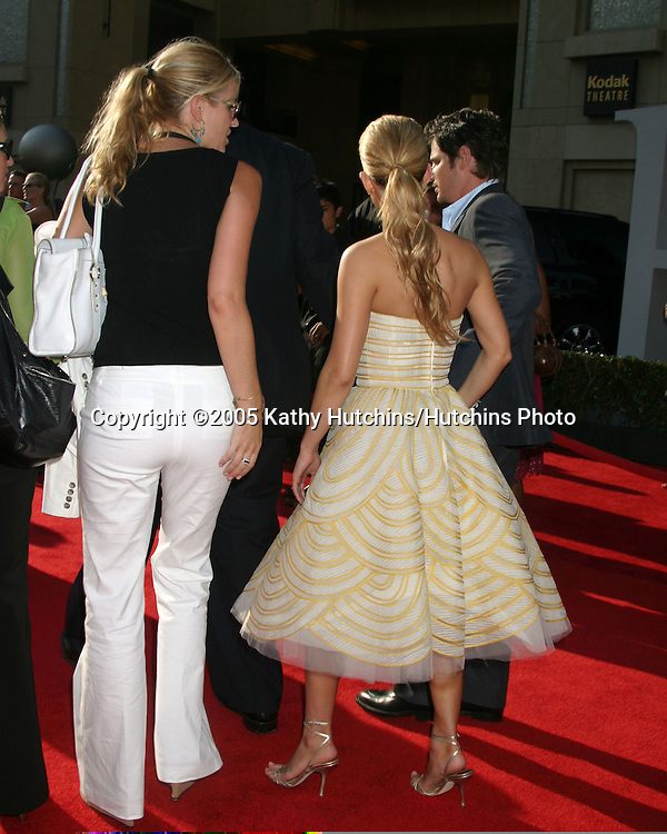 Jessica Simpson.Nick Lachey.ESPY Awards.Kodak Theater.Los Angeles, CA.July 14, 2005.©2005 Kathy Hutchins / Hutchins Photo
