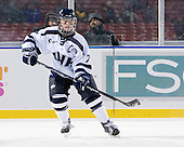 Kelly Paton (UNH - 7) - The University of New Hampshire Wildcats defeated the Northeastern University Huskies 5-3 (EN) on Friday, January 8, 2010, at Fenway Park in Boston, Massachusetts as part of the Sun Life Frozen Fenway doubleheader.