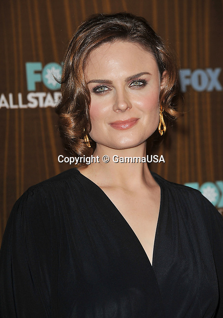 Emily Deschanel _28  -<br /> FOX tca Winter Party at the Sorisso Restaurant in Pasadena.