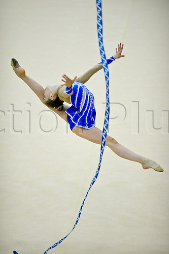 26.06.2011 British Rhythmic Gymnastics Championships from Fenton Manor in Stoke on Trent.Helena Bailey in action