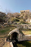 Israel, the Upper Galilee. Ein Garna below the Druze village Beth Jan