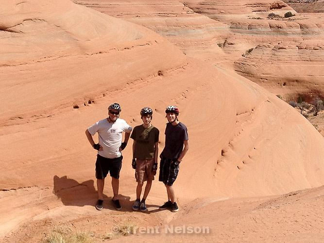 Trent Nelson, Noah Nelson, Nathaniel Nelson, Bartlett Wash, Saturday April 6, 2013.