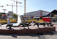 Nederland  Amsterdam - 2019. Het Osdorpplein in Amsterdam-West.  Berlinda van Dam / Hollandse Hoogte