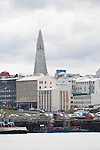 REYKJAVIK - ICELAND - MAY 10, 2012: Reykjavik, the capital and largest city in Iceland. (Photo by Dirk Markgraf)