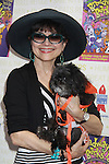 """Linda Hart stars in Catch Me If You Can attend Broadway Barks Lucky 13th Annual Adopt-a-thon - A """"Pawpular"""" Star-studded dog and cat adopt-a-thon on July 9, 2011 in Shubert Alley, New York City, New York with Bernadette Peters and Mary Tyler Moore as hosts.  (Photo by Sue Coflin/Max Photos)"""