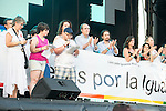 XXX attends to the protest during Gay Pride celebrations in Madrid, Spain. July 04, 2015.<br />  (ALTERPHOTOS/BorjaB.Hojas)