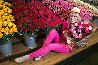 (c) Mark Thomas| StockPix.eu<br /> RHS Chelsea flower show-!00 year anniversary-Joanna Lumley