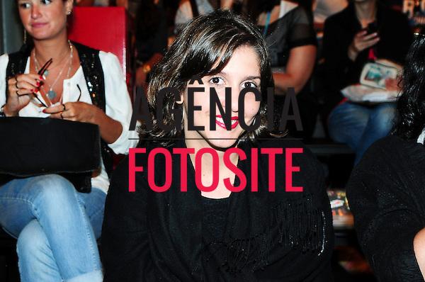 Rio de Janeiro, Brasil – 10/01/2012 - Milene Chaves no desfile de Herchcovitch durante o Fashion Rio  -  Inverno 2012. Foto : Gabriel Cappelletti / Agência Fotosite